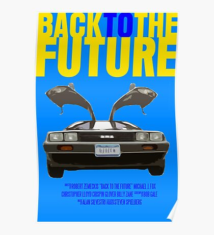 Back To The Future Movie Poster Poster