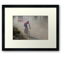 Paris- Roubaix 2013 Cycle Classic Framed Print