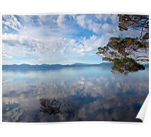 Reflections of Macquarie Harbour Poster