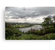Tweed Riverscape Canvas Print