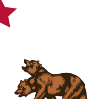New California Republic Sticker