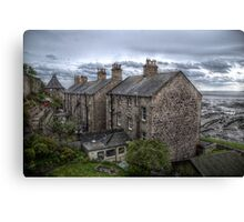 Tweed Cottages Canvas Print