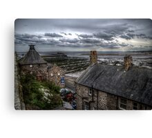 Tweed Cottages View Canvas Print