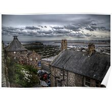 Tweed Cottages View Poster