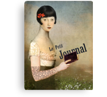 Le Petit Journal Canvas Print