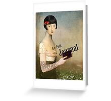 Le Petit Journal Greeting Card