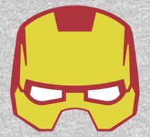 Super hero mask (Iron man) Kids Tee