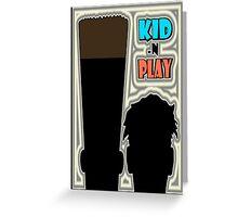 HIP-HOP ICONS: KID 'N PLAY Greeting Card