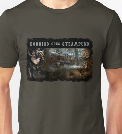 Dorrigo Goes Steampunk Unisex T-Shirt