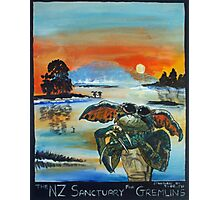 The NZ Sanctuary For Gremlins Photographic Print
