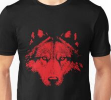 Broken World _ Wolf Red Unisex T-Shirt