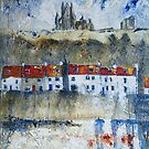 Whitby Reflection by Sue Nichol