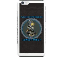 Lonely Robot: Quiet Bobby iPhone Case/Skin