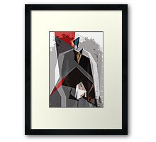 Guys in Suits. Framed Print