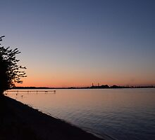 sunset in canada by cdoering
