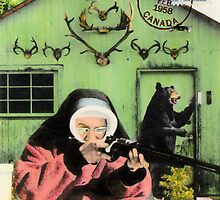 Mystery Nun at Haunted Ranch by Bill Blair