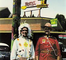 Twin Totems Cafe by Bill Blair