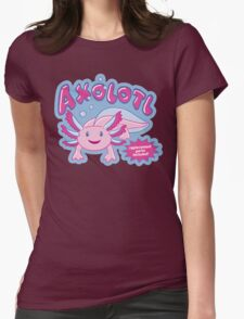 Axolotl - Replacement Parts Included! Womens Fitted T-Shirt