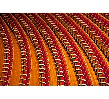 Red Zippers Photographic Print