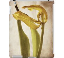zephyr - a tulip ages gracefully iPad Case/Skin
