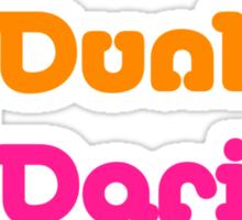 Dunkin´ Darius Sticker