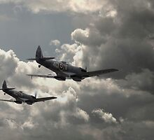 Spitfire Wingman by J Biggadike
