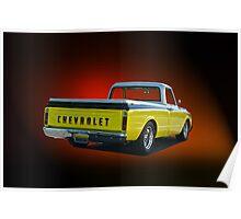 1969 Chevrolet C10 Pick-Up Truck I Poster
