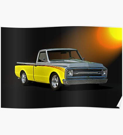 1969 Chevrolet C10 Pick-Up Truck II Poster