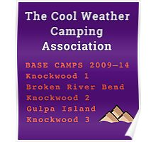 The TCWCA Base Camp Shirt Poster