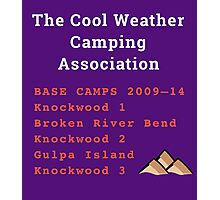The TCWCA Base Camp Shirt Photographic Print