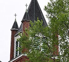 Church Steeple and Crosses2 by henuly1