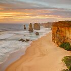 The 12 Apostles by sunset by SilverEye-RB