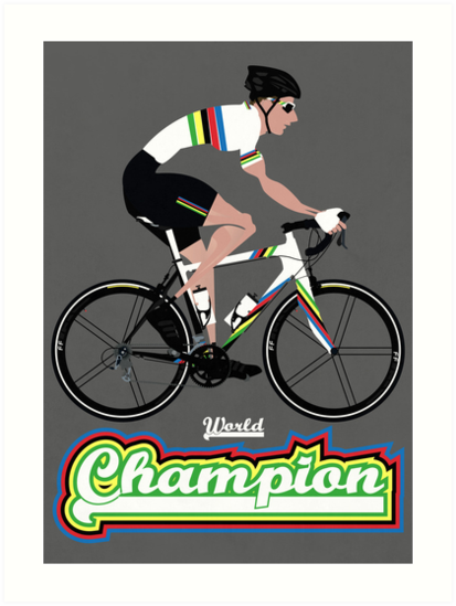 World Champion Cycling by Andy Scullion