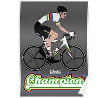 World Champion Cycling Poster