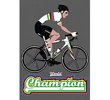 World Champion Cycling Photographic Print