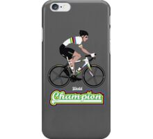 World Champion Cycling iPhone Case/Skin