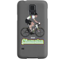 World Champion Cycling Samsung Galaxy Case/Skin