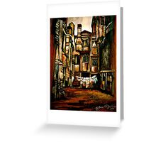 A Quiet City... Greeting Card