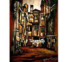 A Quiet City... Photographic Print