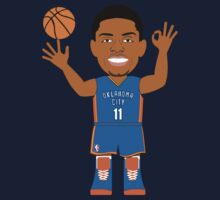 NBAToon of Jeremy Lamb, player of Oklahoma City Thunder by D4RK0