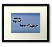 """Eagle Squadron"" - Duxford 26.05.2013 Framed Print"