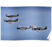 """""""Eagle Squadron"""" - Duxford 26.05.2013 Poster"""