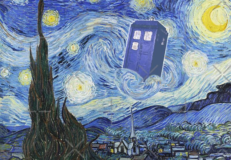 Vincent Van Gogh Doctor Who Starry Night Vincent Van Gogh