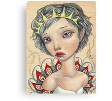 Sea Bride Canvas Print