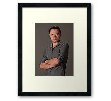 Chris Casual Framed Print