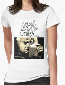 Ralph Steadman - I'm Not Like the Others Womens Fitted T-Shirt