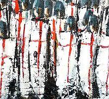Crusade Battle Shields by Kaye Miller-Dewing