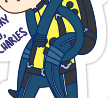 I'll Carry You Charles Sticker