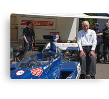 John Surtees  at Edenbridge fun day Canvas Print