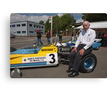 John Surtees OBE  at Edenbridge fun day Canvas Print